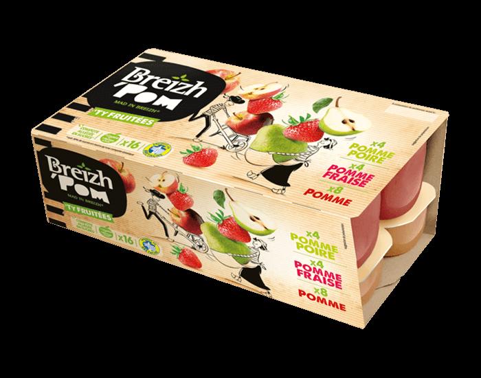 Image du produit Pomme poire – Pomme fraise – Pomme