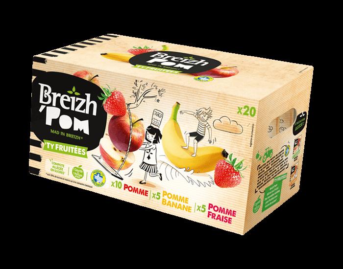 Image du produit Pomme – Pomme Fraise – Pomme Banane